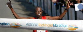 Kipkoech Ruto wins Richmond Marathon 2012