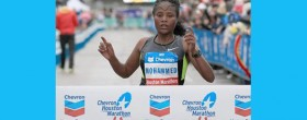 Merima Mohammed - Houston Marathon 2013