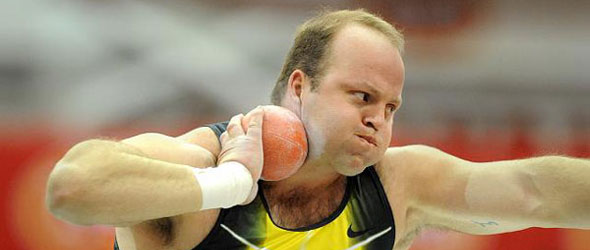 Shot Putter Adam Nelson