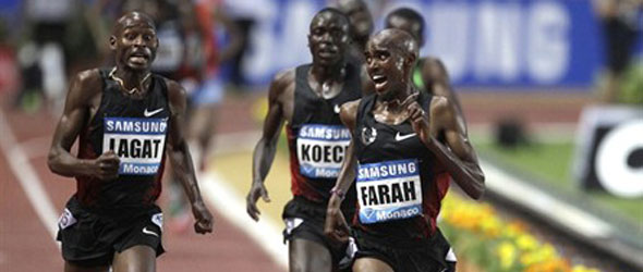 Lagat and Farah Monaco