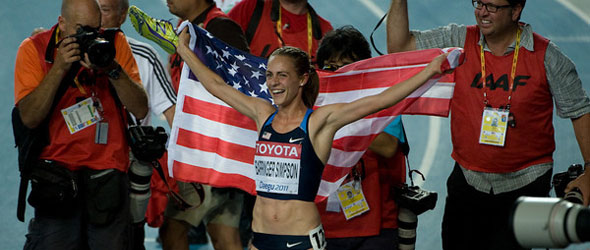 Jenny Barringer Simpson Gold 1500m Daegu