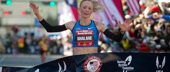 Shalane Flanagan - US Marathon Trials 2012