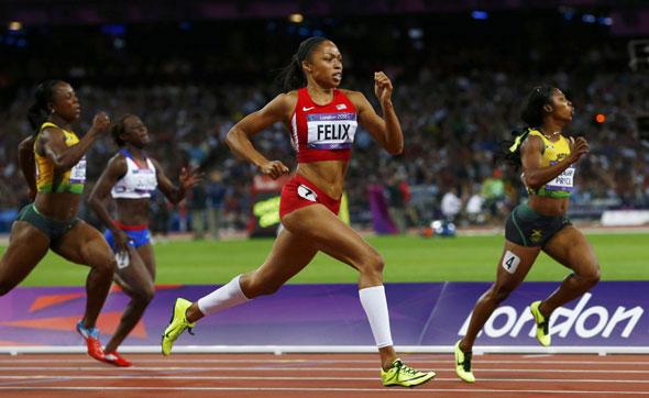 Allyson Felix - 200m Gold