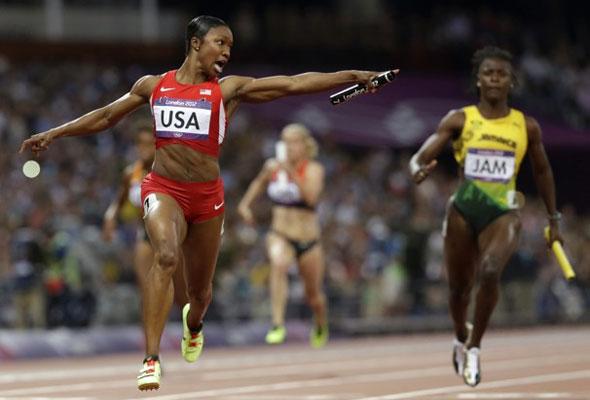 Jeter - 4 x 100m relay