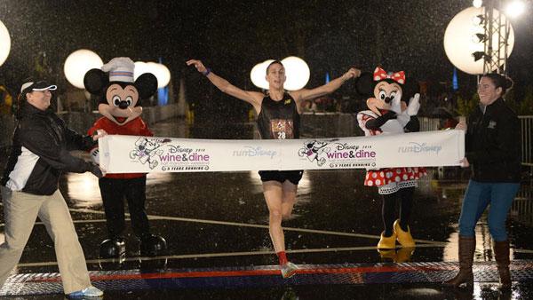 Chris Sorrick debut Disney Half win