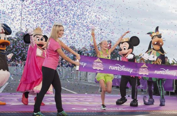 Passell wins Disney Princess Half Marathon