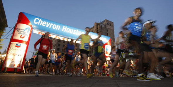 The Houston Marathon