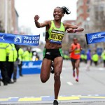 Caroline Rotich wins Boston Marathon 2015