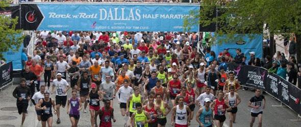 Dallas Half Start 2011