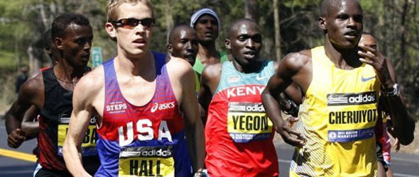 Ryan Hall for Mile Race