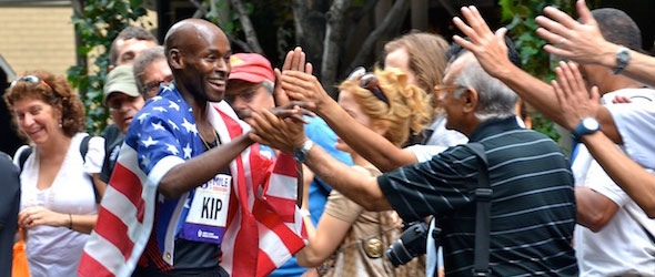 Bernard Lagat wins Fifth Avenue Mile