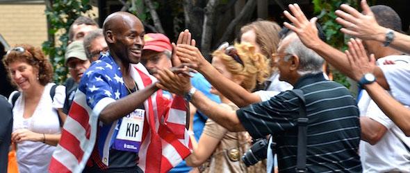 Bernard Lagat wins Fifth Avenue Mile