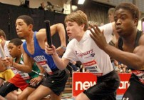 Hines, Staples, Moschella win at Youth Indoor