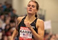 Miller, Kampf take mile titles