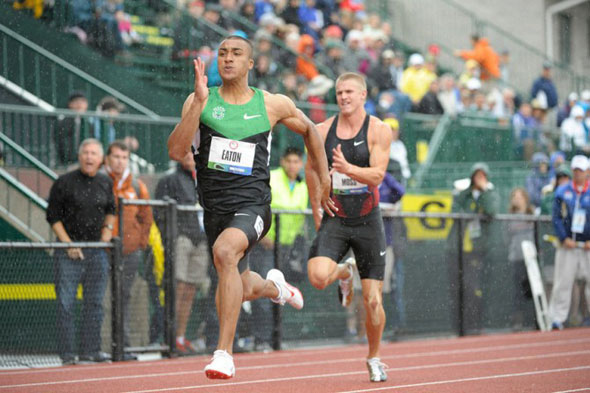 Ashton Eaton sets World Record