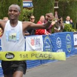 Alemayehu Shatters Course Record