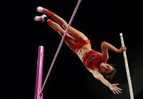 Jenn Suhr wins Olympic Gold