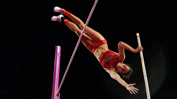 Jenn Suhr wins Olympic Gold