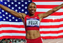 Felix and Eaton win Jesse Owens Award 2012