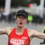 Deena Kastor runs fast half marathon