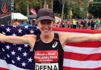Deena Kastor sets Half Record