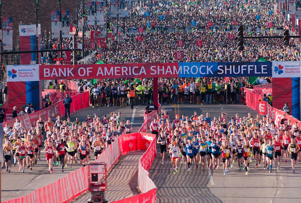 Shamrock Shuffle attracts 23000 participants