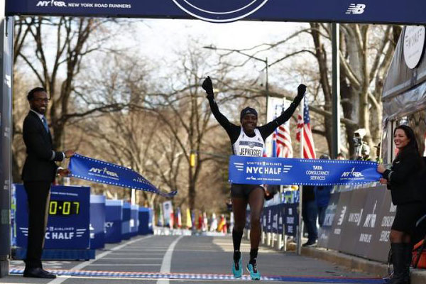 Defending Champs Return for NYC Half 2020