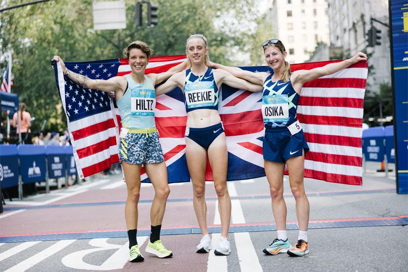 Wightman, Reekie win 5th Avenue Mile titles
